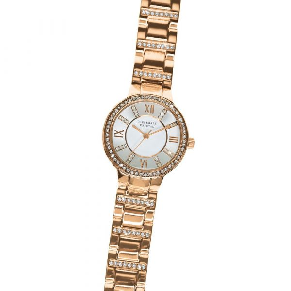 Tipperary Crystal Continuance Watch (Rose Gold)