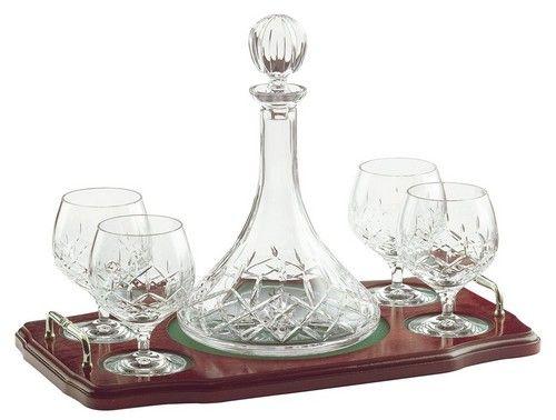 Galway Crystal Brandy Decanter Set
