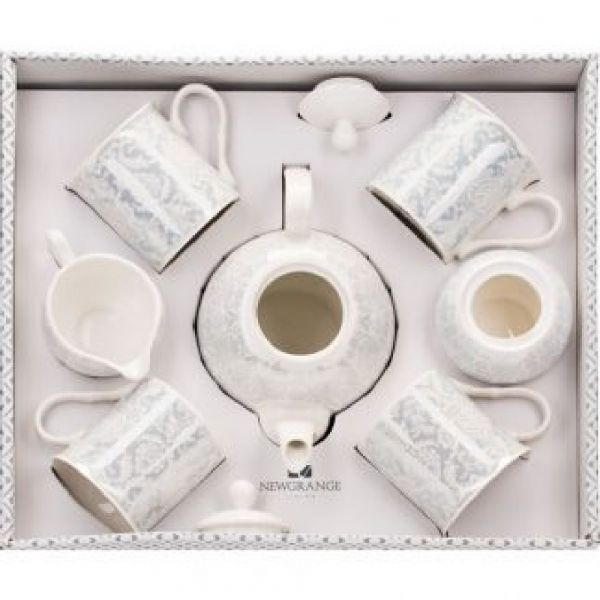 Newgrange Living Bella Bone China 7pce Tea Set