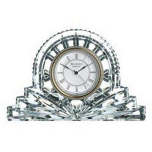 Waterford Crystal Lismore Large Cottage Clock