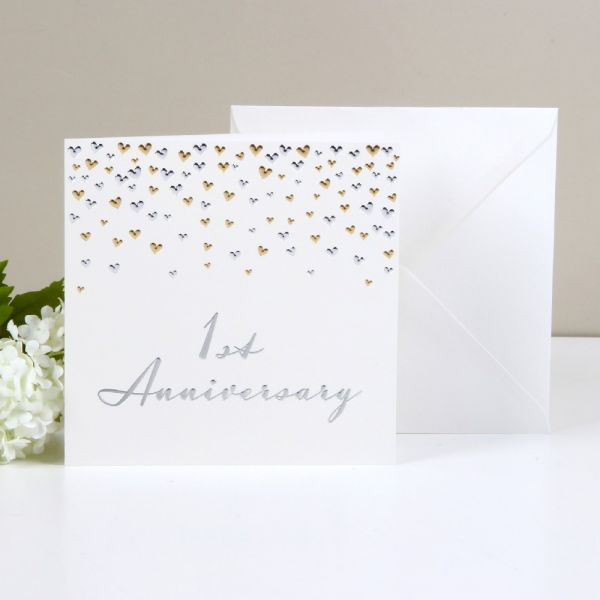 Greeting Cards 1st Anniversary