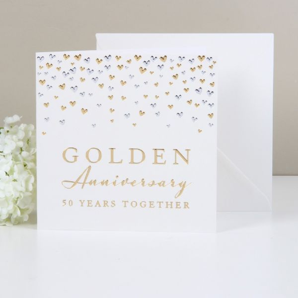 Greeting Cards Golden Anniversary 50 Years Together