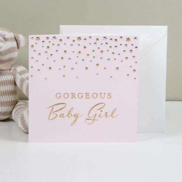 Greeting Card Gorgeous Baby Girl