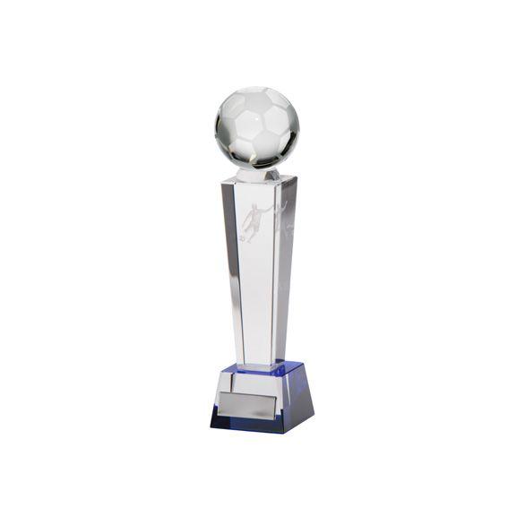 Legend Tower Crystal Football Award 180mm